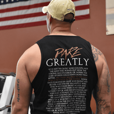 Dare Greatly Tank - Iron Apparel