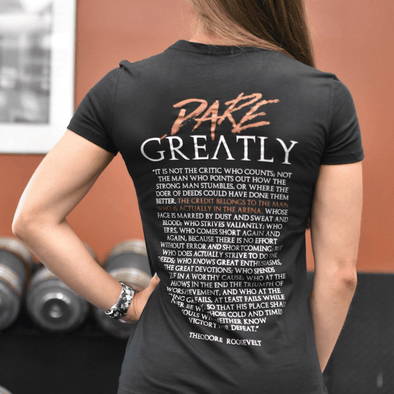Dare Greatly Womens - Iron Apparel