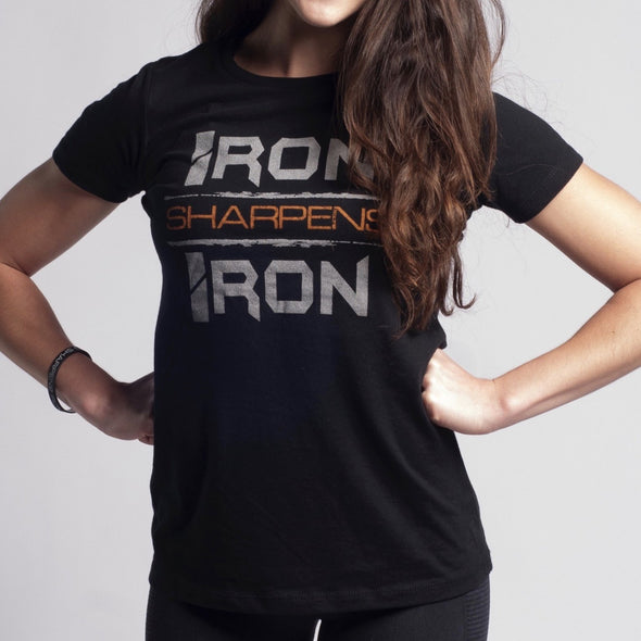 Iron Sharpens Iron Womens - Iron Apparel