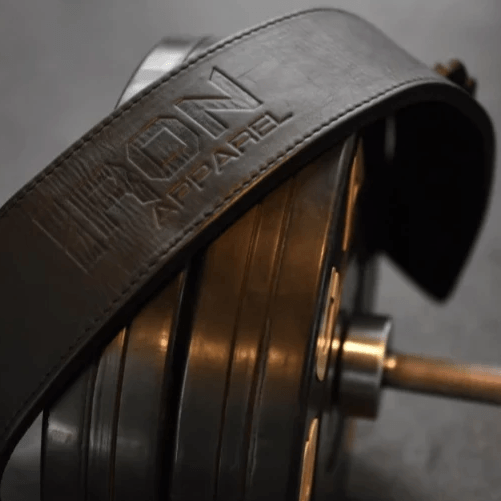 Leather Lifting Belt - Iron Apparel