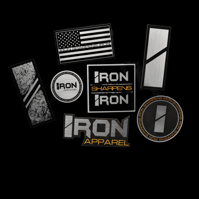 Standard Sticker Pack - Iron Apparel