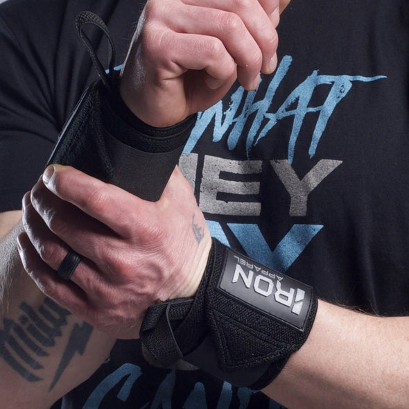 Wrist Wraps - Iron Apparel