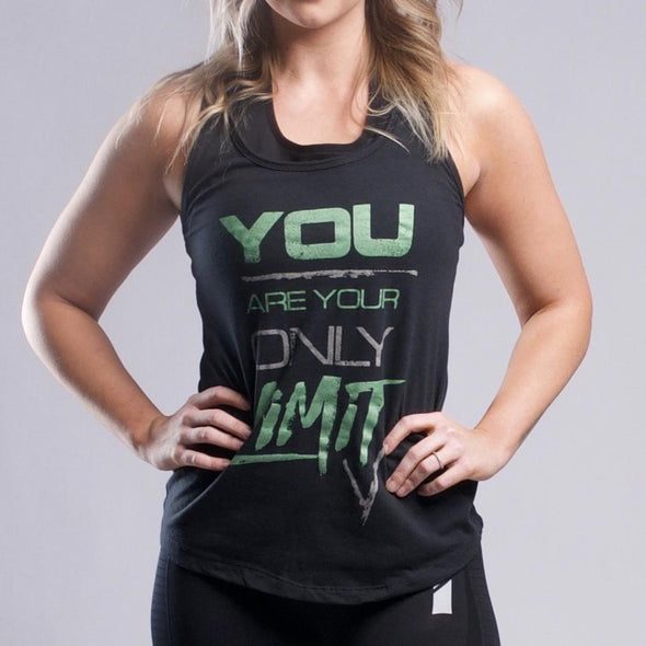 You Are Your Only Limit Racerback - Iron Apparel