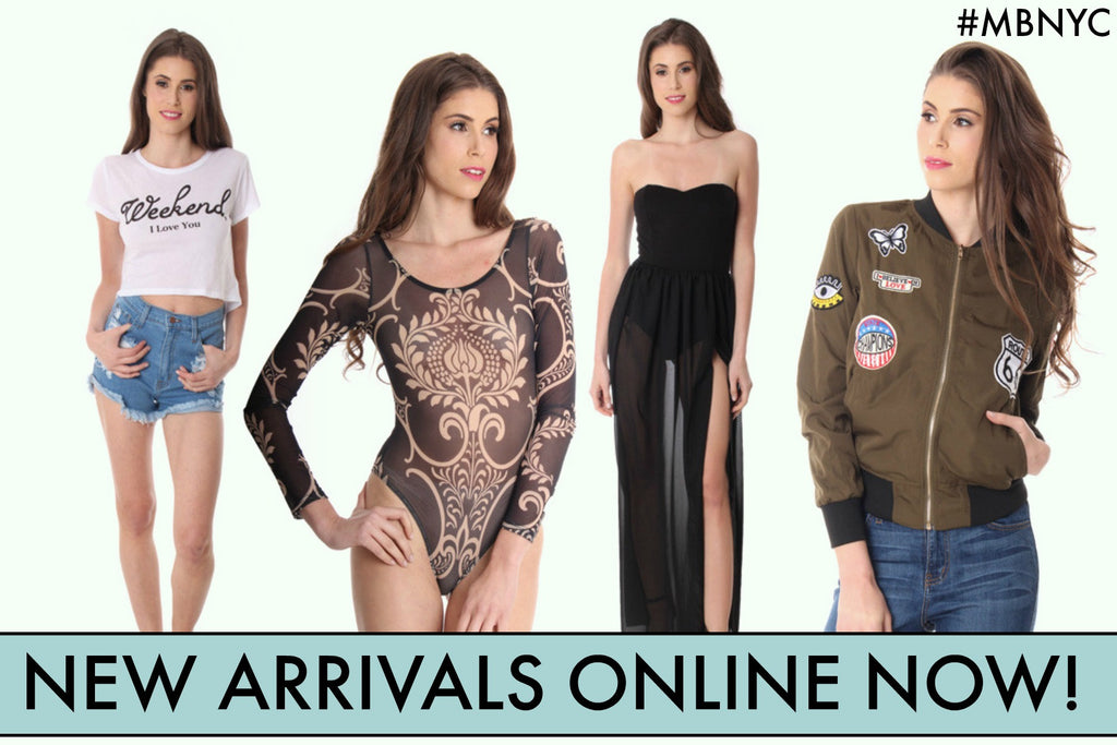 Graphic Tees, Dresses, Tops, Jackets, Bodysuits
