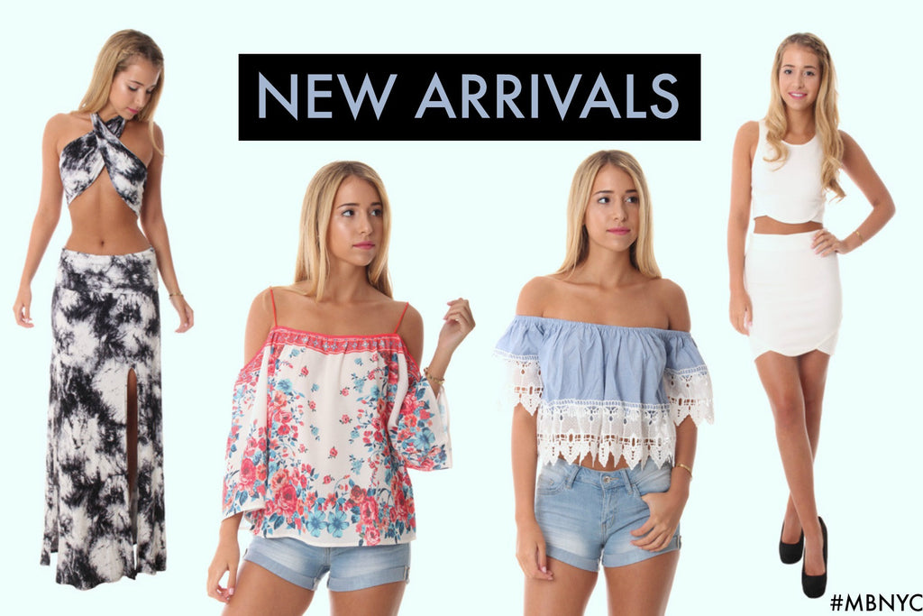 Our Latest Summer Time Arrivals You Will LOVE!