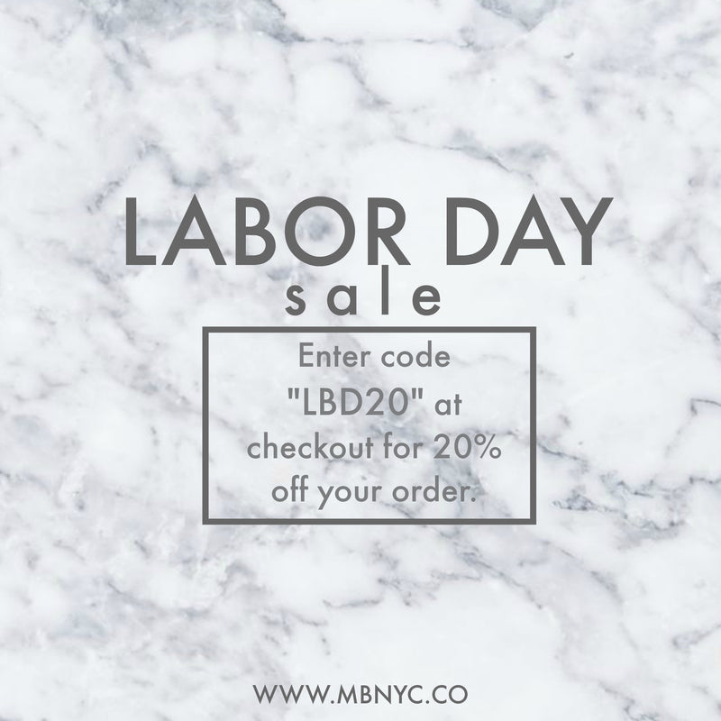 Coming in HOT with a Labor Day Sale!