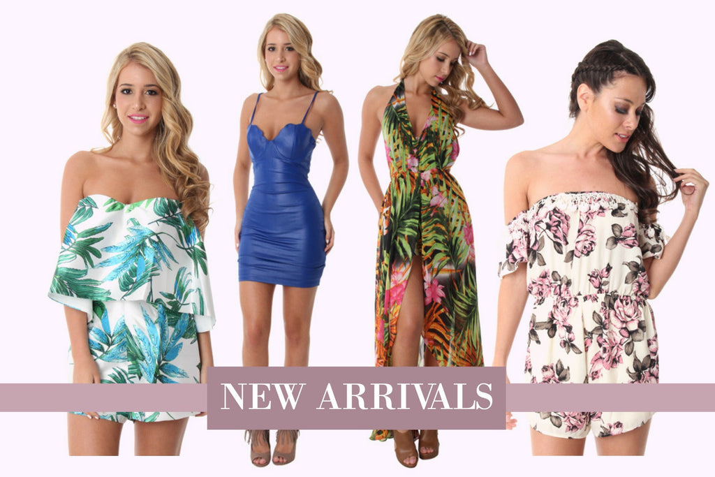 We Have New Rompers, Dresses & Skirts Now Available