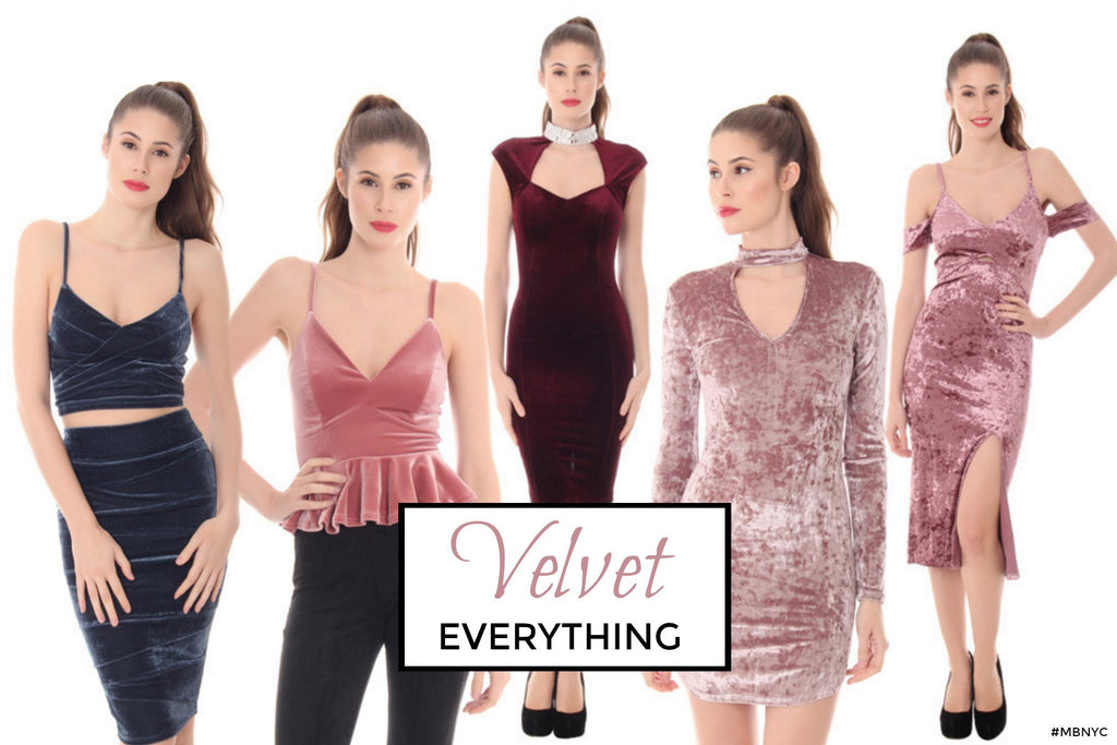 We Are Obsessed With Velvet EVERYTHING!