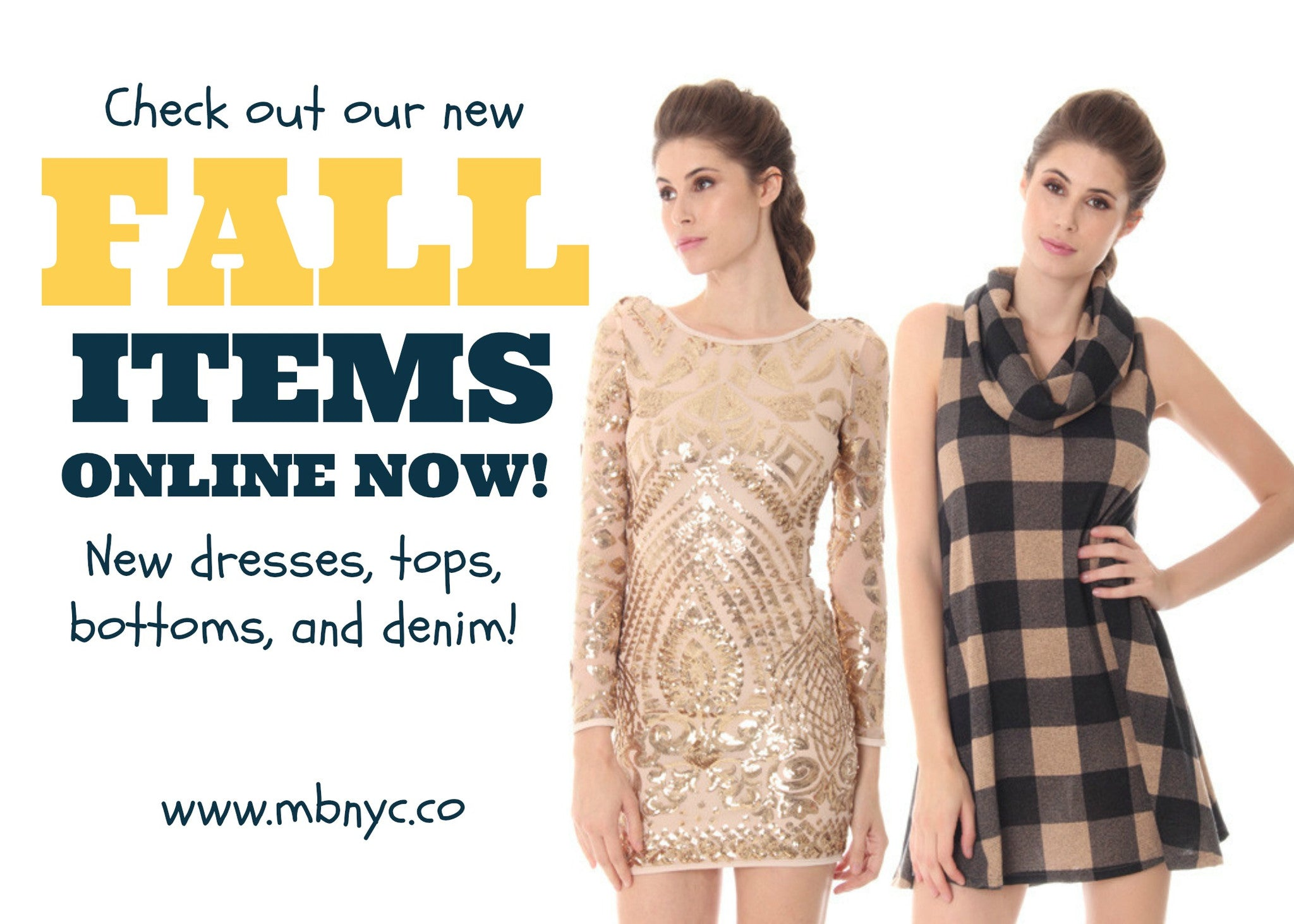Fall in Love with Fall Items!