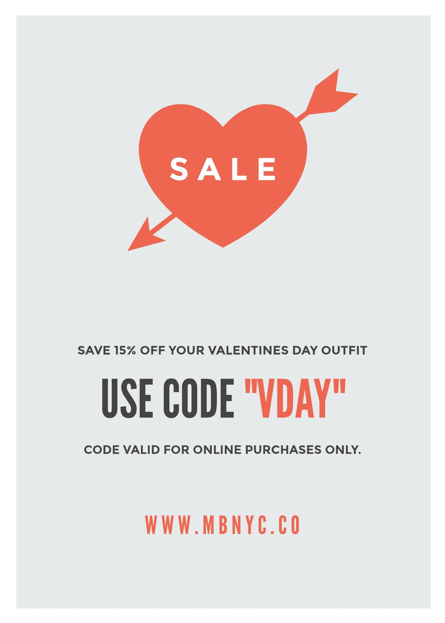 6a43f656c3dbb Need a look for Valentines Day  Shop online  MBNYC and save 15% off your  order. Use code