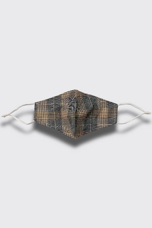 PLAID CONTOUR UNISEX FACE MASK