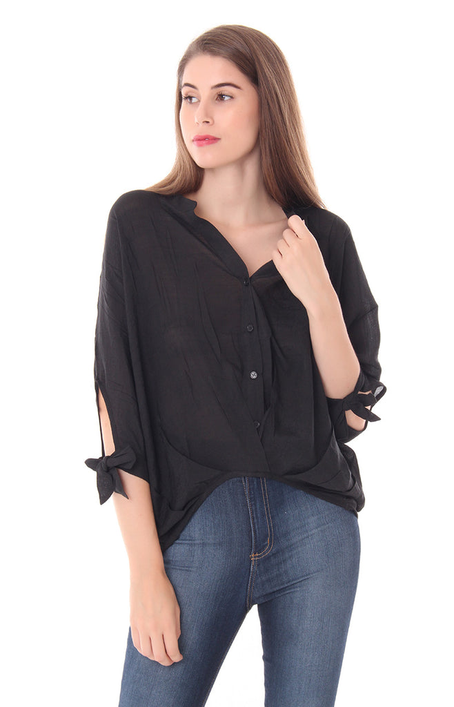 BACK WITH A VENGEANCE BLOUSE