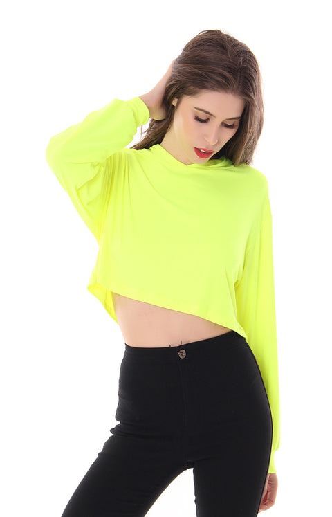 I'LL GIVE YOU ELECTRICITY CROP TOP