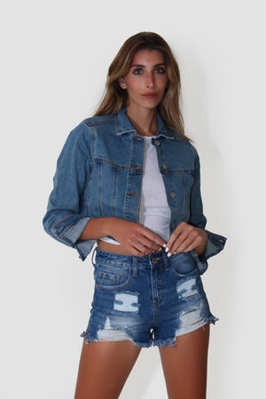 STEPHANIE'S JEAN JACKET
