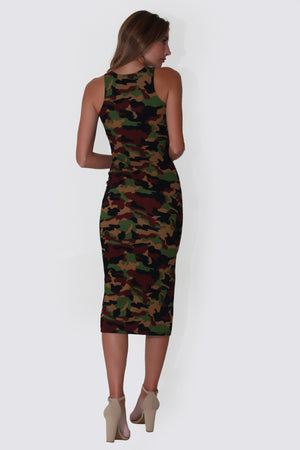 ARMY BABE DRESS