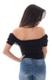 RUFFED AND RAGGED CROP TOP
