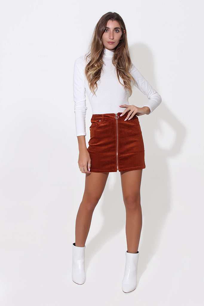 APPLE CIDER SKIRT