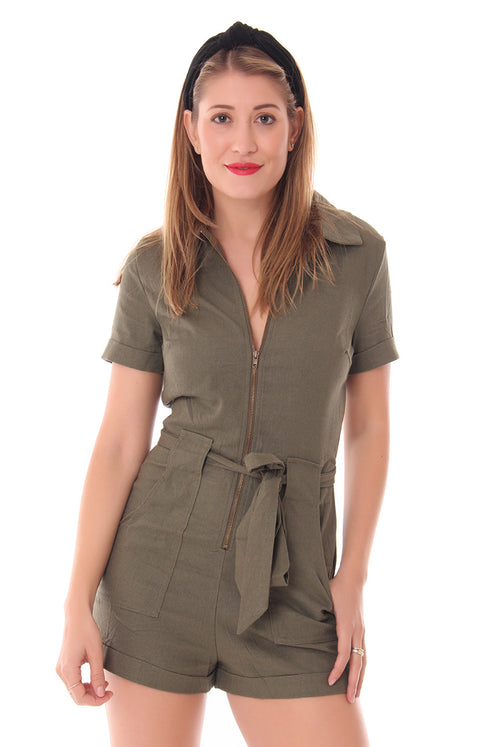 ATTENTION SEEKER ROMPER
