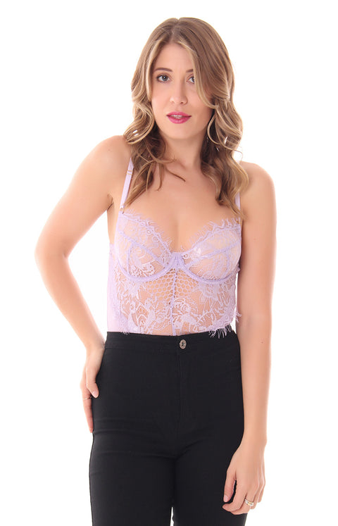 LAVENDER KISSES BODYSUIT