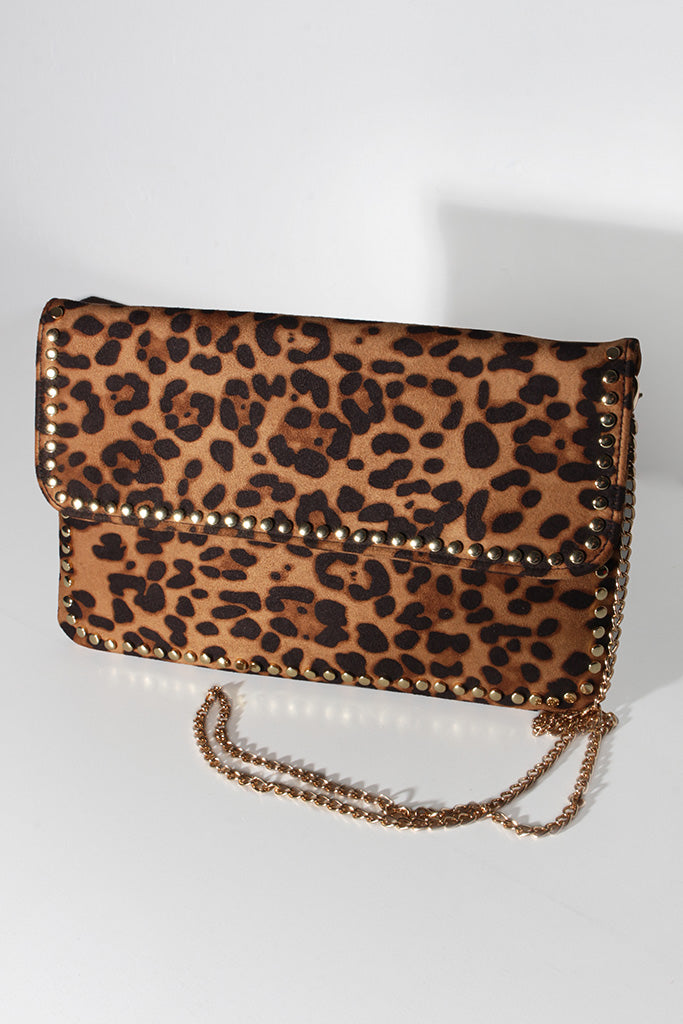 LEOPARD BABE BAG