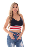 AMERICAN PIE CROP TOP