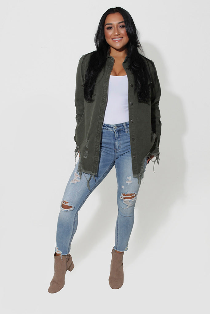 JACEY DENIM JACKET