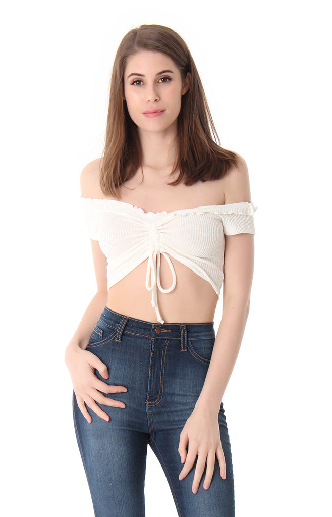 SHOW THE WORLD YOUR BEAUTY CROP TOP