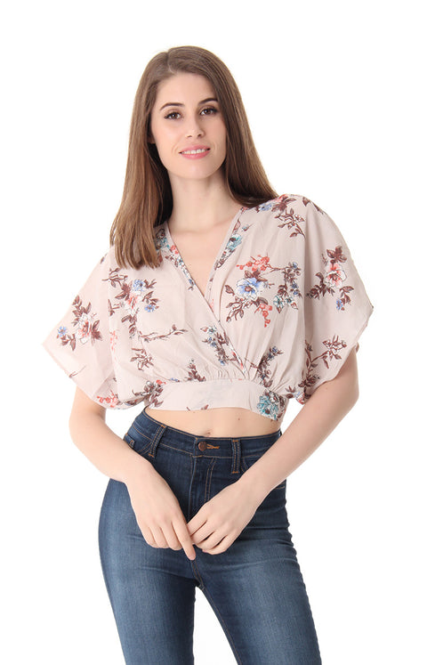 PASSION FRUIT CROP TOP