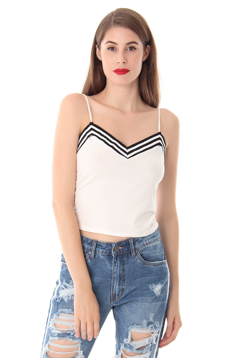 ROLL WITH THE PUNCHES CROP TOP