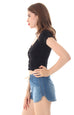 BASIC INSTINCT CROP TOP