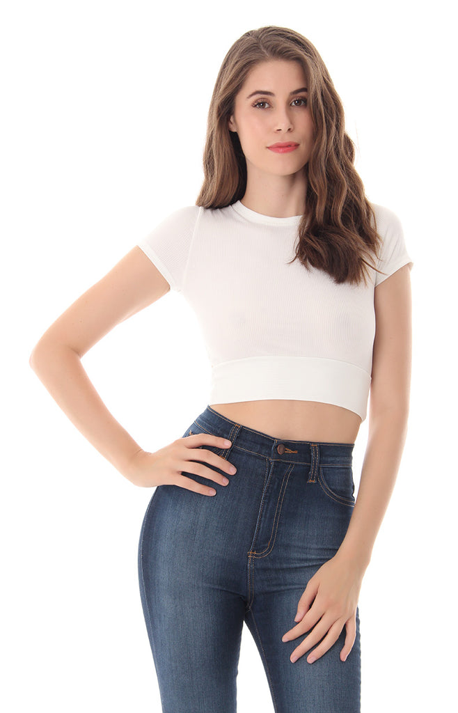 GOT ME BLUSHING CROP TOP
