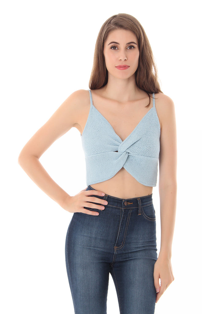 HOLD IT DOWN CROP TOP