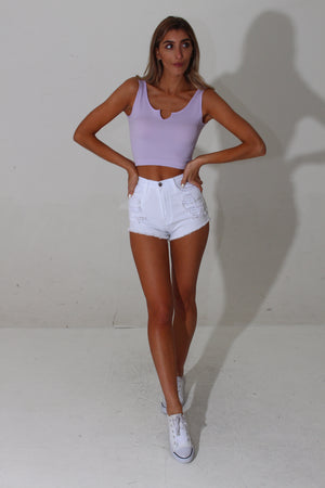 BERMUDA CROP TOP