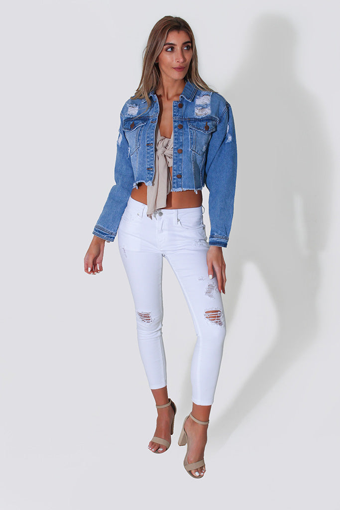 HARPER DENIM JACKET