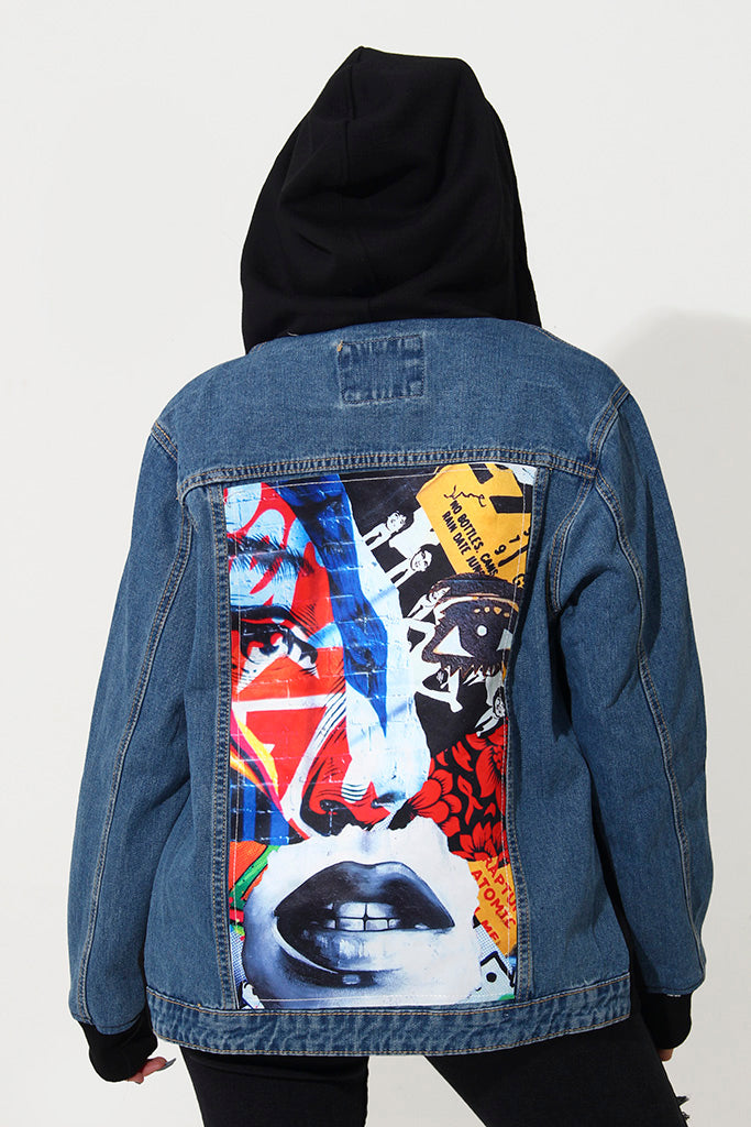 GRAFFITI BABE JACKET