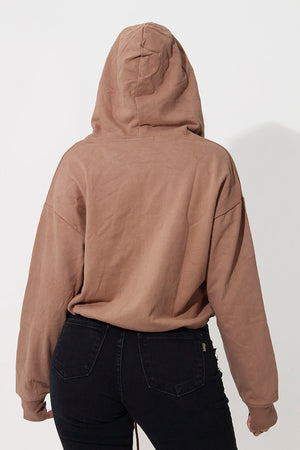 AVA CROPPED HOODIE