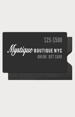 ONLINE GIFT CARD (CAN'T BE USED  IN STORE)