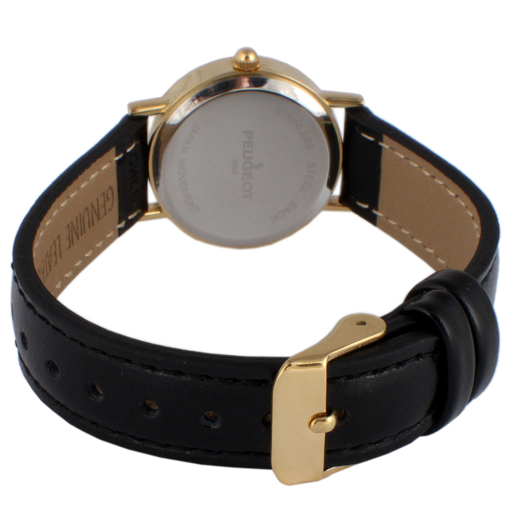Women 25mm Classic Dress Leather Strap