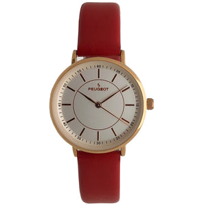 Women 30mm Modern Calfskin Leather Strap