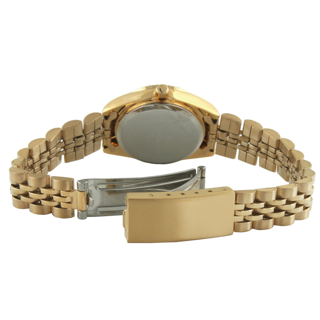 Gold-Tone Interchangeable Bezel Set by Peugeot Watches - Peugeot Watches