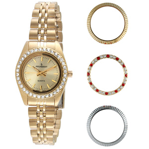 Women's Interchangeable Bezel Set by Peugeot Watches - Peugeot Watches