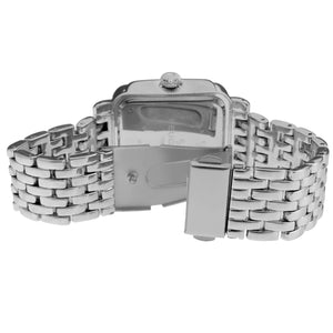Panther Link Bracelet Watch - Silver - Peugeot Watches