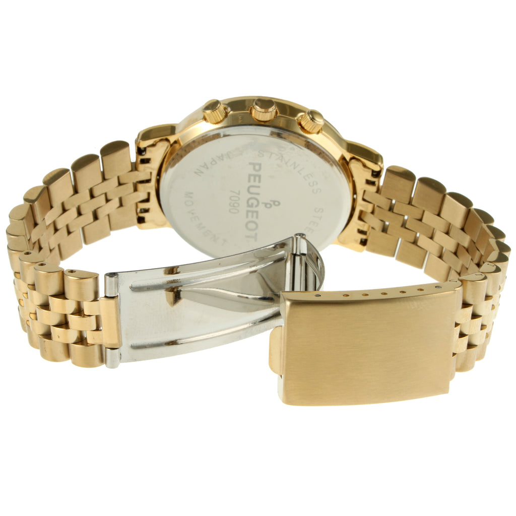 Multi-Function Bracelet Watch - Gold - Peugeot Watches