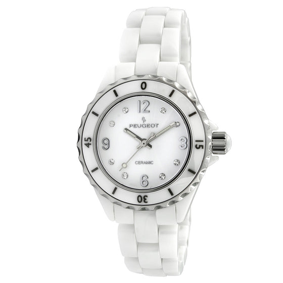 Womens Genuine Ceramic Bracelet Watch - Peugeot Watches