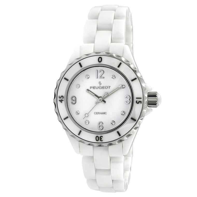 Womens Genuine Ceramic Bracelet Watch