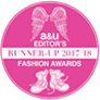 A&U Editor's Fashion Awards 2017/18