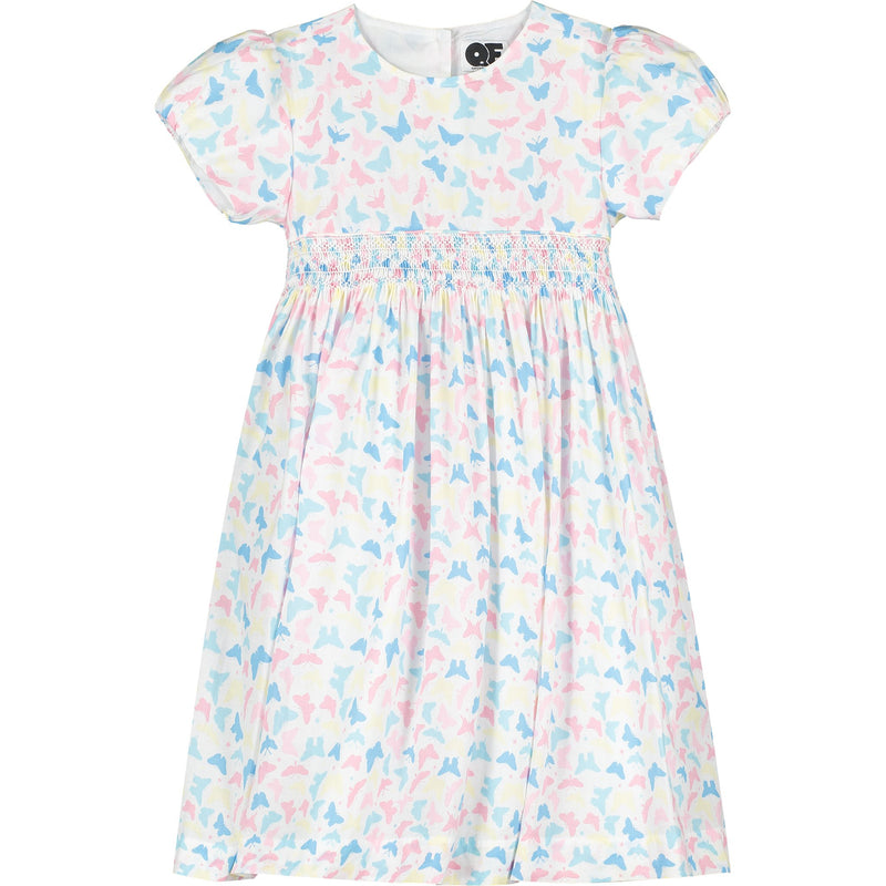 girls butterfly dress front