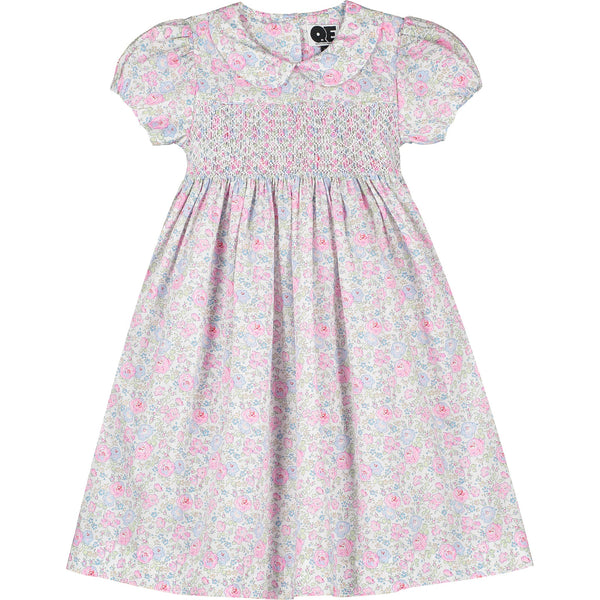 girls classic hand-smocked dress front