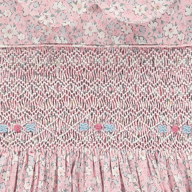 smocked bodice detail