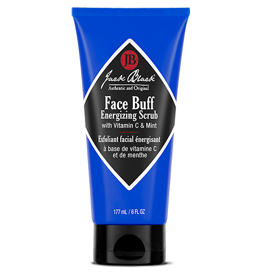 Jack Black Face Buff Energizing Scrub with Vitamin C & Mint